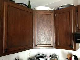 staining cabinets love the color of stain wood kitchen cabinets
