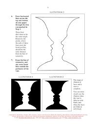 Vase Faces Illusion Incepatori B Deprindeti Va Sa Vedeti