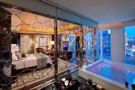 Elara One Bedroom Suite Skyline Marquee Suite Bedroom Inspired Suites Las Vegas Strip