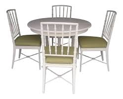 Chippendale Dining Room Set by Drexel Faux Bamboo Chinese Chippendale Dining Set Chairish