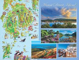 Acadia National Park Map Acadia National Park U2013 Maine Scene