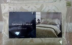 Thomas O Brien Bedding Vintage Modern Thomas O U0027brien Bedding Information