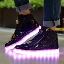 la light up shoes topteck led luz luminosos light up flashing sneakers zapatos