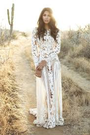 hippie wedding dresses 21 gorgeous sleeved wedding dresses hippy wedding dresses