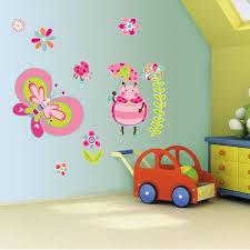 teal wall art stickers shenra com girls bedroom pink butterfly wall art stickers tinkietoys