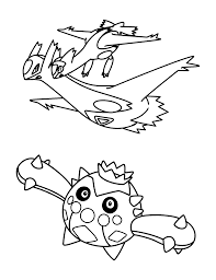 coloring page pokemon advanced coloring pages 276