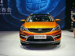 geely beijing 2016 geely emgrand gs stands out from the mass of chinese