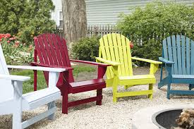 How To Build An Adirondack Chair To Spray Paint A Wooden Adirondack Chair