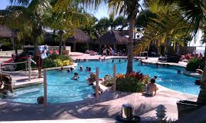 the pool at jimmy johnson u0027s big chill key largo fl via