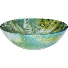 green glass vessel bathroom sinks y decor gourmand blended hues of blue and green vessel sink