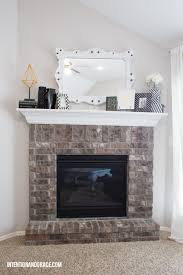 modern fireplace makeover intention u0026 grace