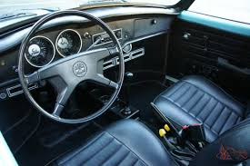 Karmann Ghia Interior Karmann Ghia Convertible