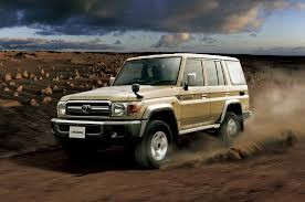 is toyota japanese toyota land cruiser 70 series first drive motor trend