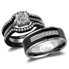 gold wedding rings sets for him and wedding ideas excelent his and hers wedding ring sets