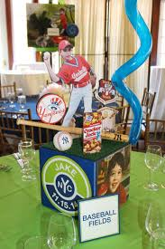 baseball centerpieces our gallery balloon artistry