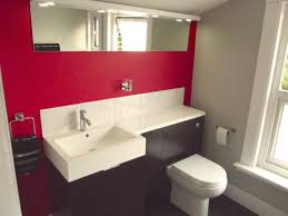 enchanting 90 pictures bathrooms painted red design inspiration