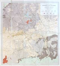 stanford u0027s geological map of london shewing superficial deposits