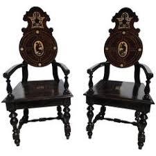Bone Inlay Chair Bone Chairs 47 For Sale At 1stdibs