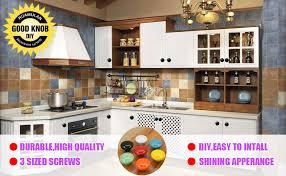 diy knobs on kitchen cabinets 15pcs white glossy ceramic knobs button cabinet dresser vintage pulls door handles cupboard wardrobe drawer dia 1 5 inch 38mm