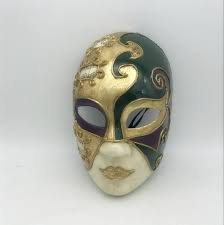 cool mardi gras masks masks mardi gras masks painted with metallic gold