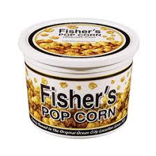 18 pack 1 2 gallon tub caramel popcorn tins fisher s popcorn