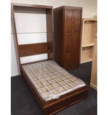 Twin Wall Bed Twin Murphy Bed U0026 Armoire Wood U0027n Things Furniture Gretna La