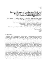 diamond diamond like carbon dlc and diamond like nanocomposite