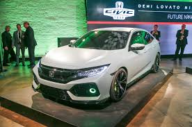 Civic Engine Size 2017 Honda Civic Hatchback Prototype Revealed In New York