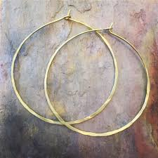 hammered hoops classic hammered hoop earrings hoop earrings large hoop earrings