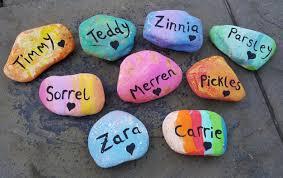 memorial rocks rock beautiful painted pet memorial rocks parsley pie