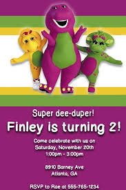 12 best barney images on pinterest barney party birthday party