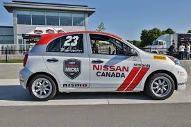 nissan canada 2016 nissan micra cup proves you can race a cheap car with no