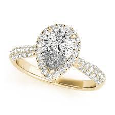 yellow gold diamond rings yellow gold engagement rings 14k 18k diamonds cz