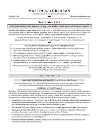 Personal Banker Resume Templates Resume Template Sales Sales Cv Template Sales Cv Account Manager