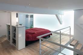 chambre en l mezzanine inspiration gain de place côté maison