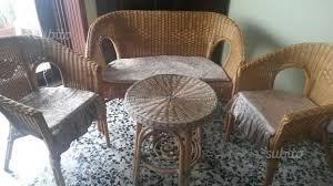 divanetto vimini divanetto vimini giardino e fai da te in vendita a salerno