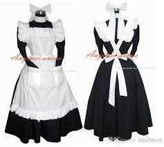 Maid Costumes Halloween Sissy Maid Dress Lockable Uniform Cosplay Costume Halloween
