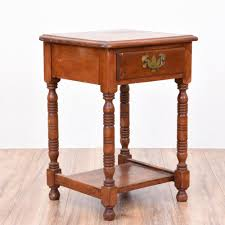 Cherry Wood Nightstands Nightstands Cherry Wood Bedside Table Mission Style Nightstand