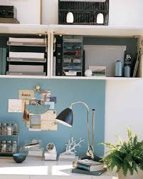 Kitchen Overhead Cabinets Clever Office Shared Space Martha Stewart