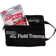 adventure medical trauma pak with quikclot sponge go time gear