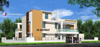 nadu style contemporary 2 bhk home design