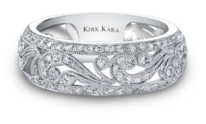 kirk kara wedding band kirk kara jewelry geneva il diamonds engagement rings