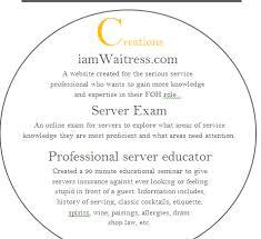 Bartender Job Description Resume by Create A Great Bartender Resume Iamwaitress