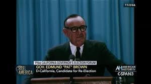 ronald reagan california gubernatorial candidate forum nov 3 1966