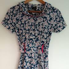 topshop katemoss x topshop daisy print 40s dress from sophie u0027s