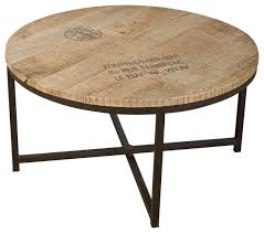 cottage style round coffee tables outstanding round coffee table recycled wood iron in industrial