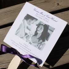 Fan Program Photo Wedding Fan Programs Archives Citrine Designs