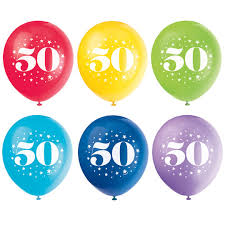 50th birthday balloons 50th birthday balloons 50th birthday party decorations