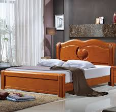 Double Bed Furniture Design Double Bed Simple Solid Wood Bedroom Furniture Love Section 901
