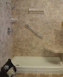 bathtub with shower surround luxury commercial bath gallery